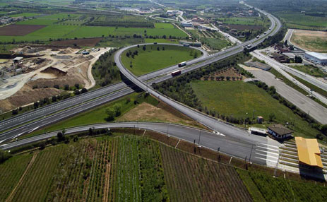 Carreteras de acceso a Tarragona