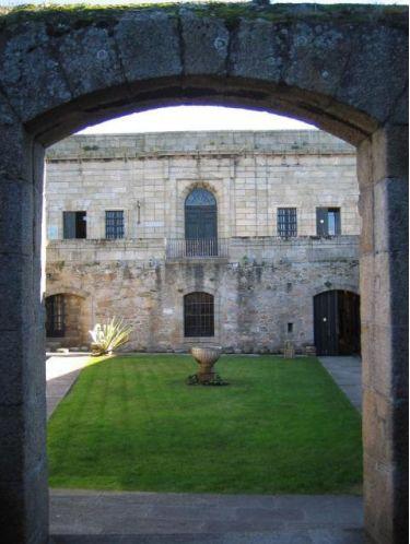 Castillo de San Antón en La Coruña