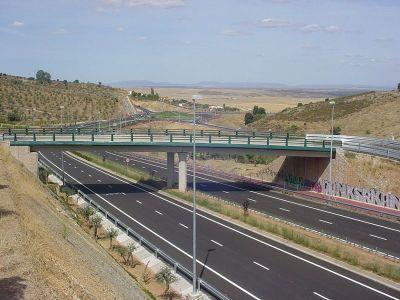 Comunicaciones por carretera en Cáceres