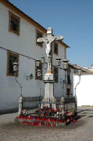 Cristo de los Faroles en Córdoba