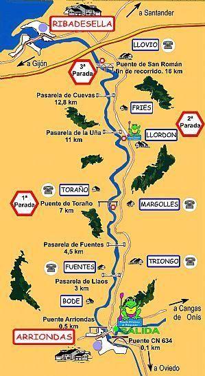 Descenso internacional del Sella, en Gijón