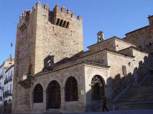 Ermita de la Paz en Cáceres
