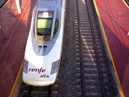 Estación del AVE en Valladolid