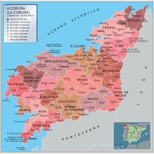 Lugares de interés de La Coruña