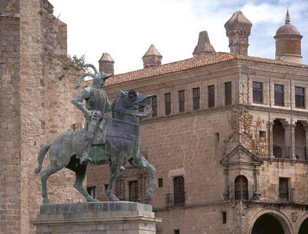 Lugares de interés turístico en Cáceres