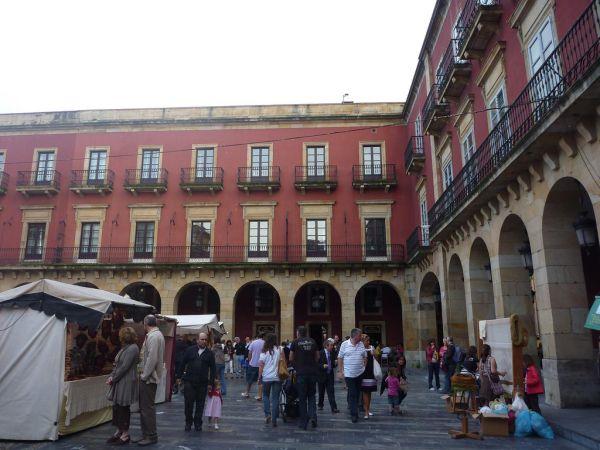 Mercado en Gijón