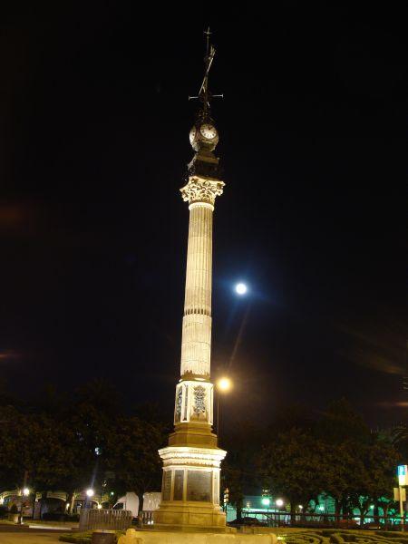 Obelisco en La Coruña