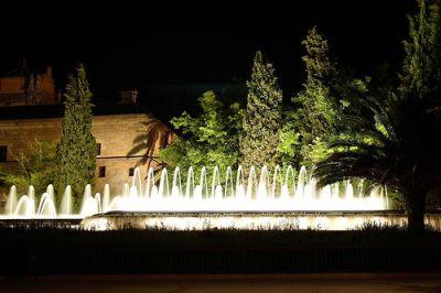 Parque de los Jardines del Triunfo en Granada