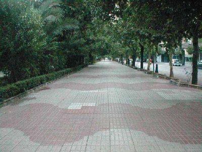 Paseo de Cánovas en Cáceres