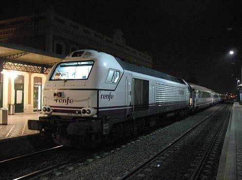 Viajar a Murcia en tren