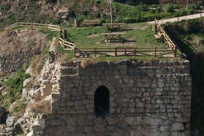 Acueducto romano en Toledo
