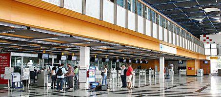 Aeropuerto de Jerez de la frontera, en Cádiz