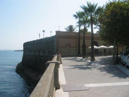 Baluarte de la Candelaria en Cádiz