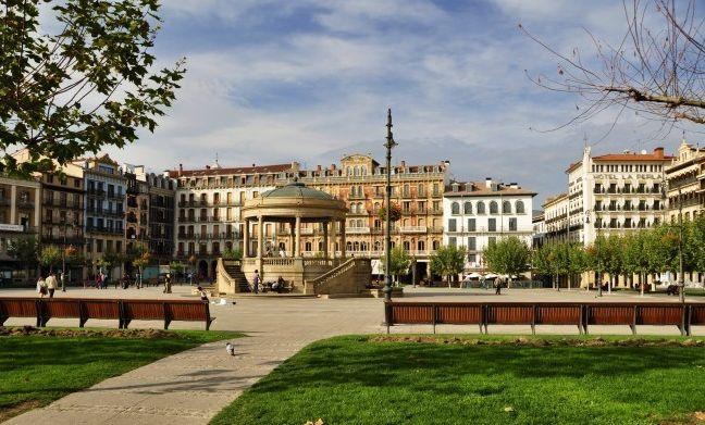 La ciudad de Pamplona