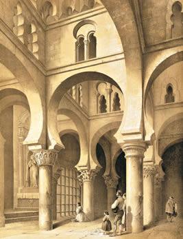 Mezquita Bab Al Mardum según Pérez de Villaamil, 1842