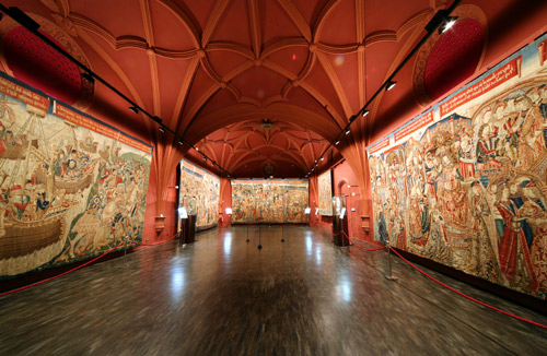 Museo de los tapices en Zaragoza