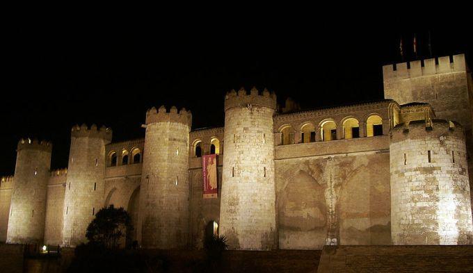 Palacio de la Alfajería en Zaragoza