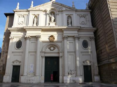 Portada de la Catedral de la Seo
