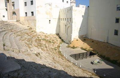 Teatro romano en Cádiz