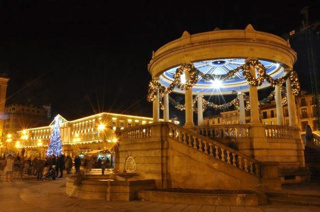 plaza del castillo quiosco