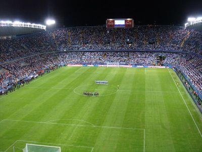 Estadio de La Rosaleda, Zaragoza