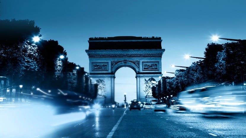 Francia nocturna