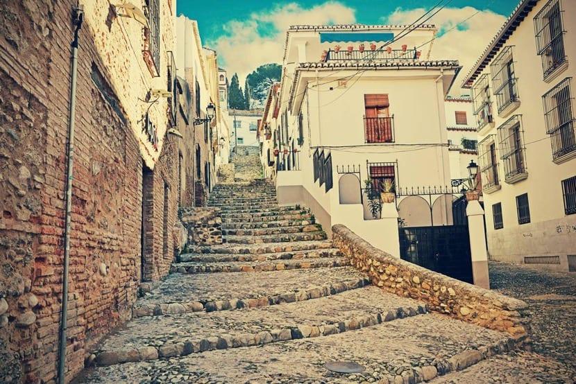 Los paseos por Granada