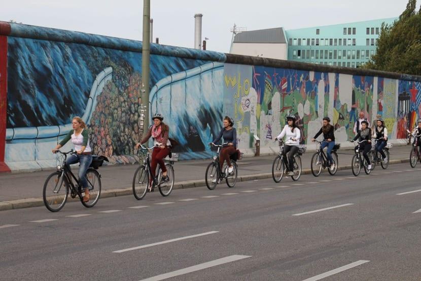 pasear en bici por Berlín