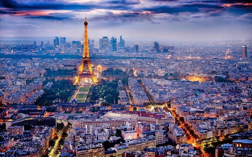 París desde lo alto