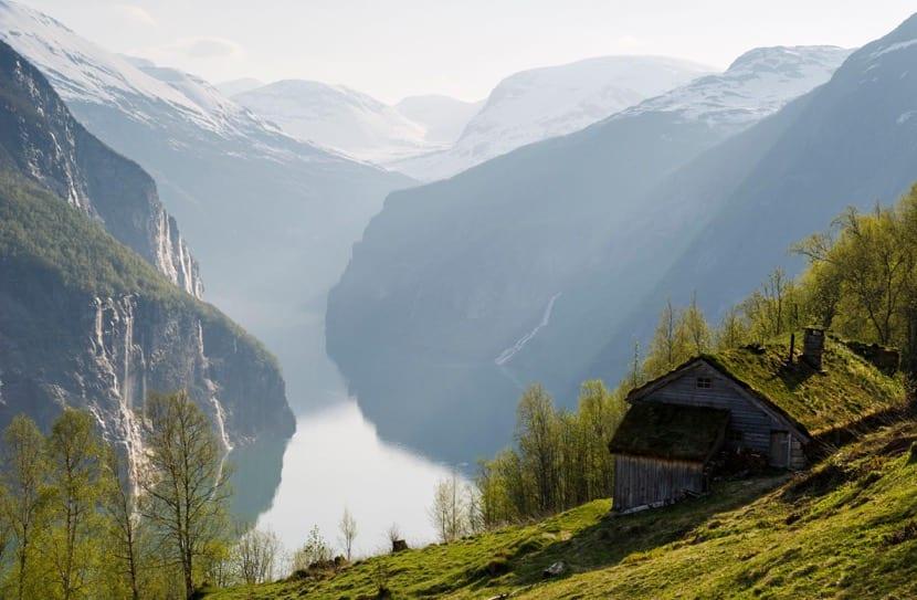 bellos paisajes en noruega