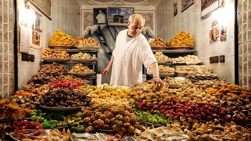 mercado en marruecos