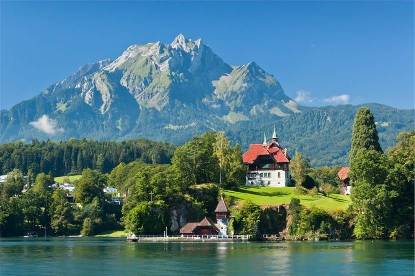 lagos en suiza