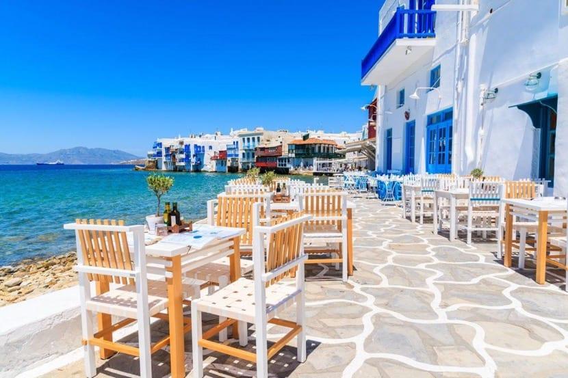 visitar santorini en Grecia