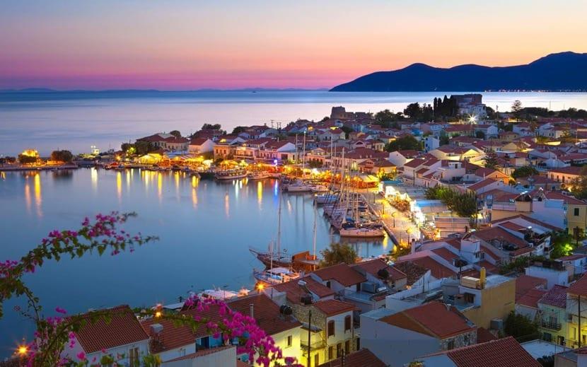 vistas preciosas de Grecia