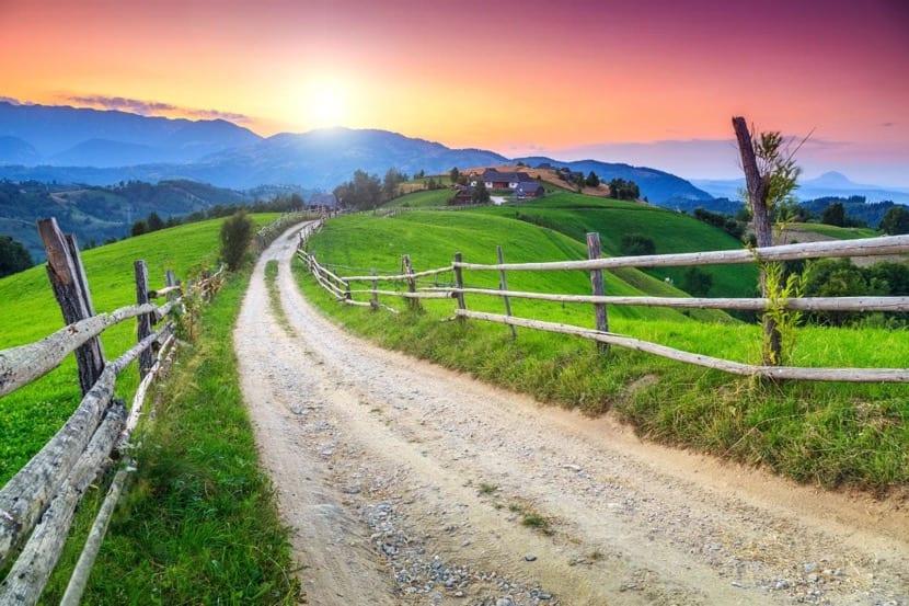 senderos para caminar por rumania