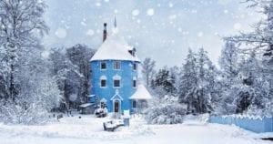 nieve y frio en finlandia