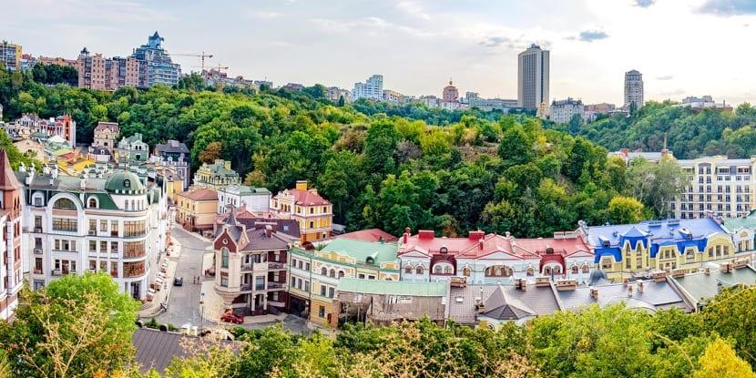 ir de visita a ucrania