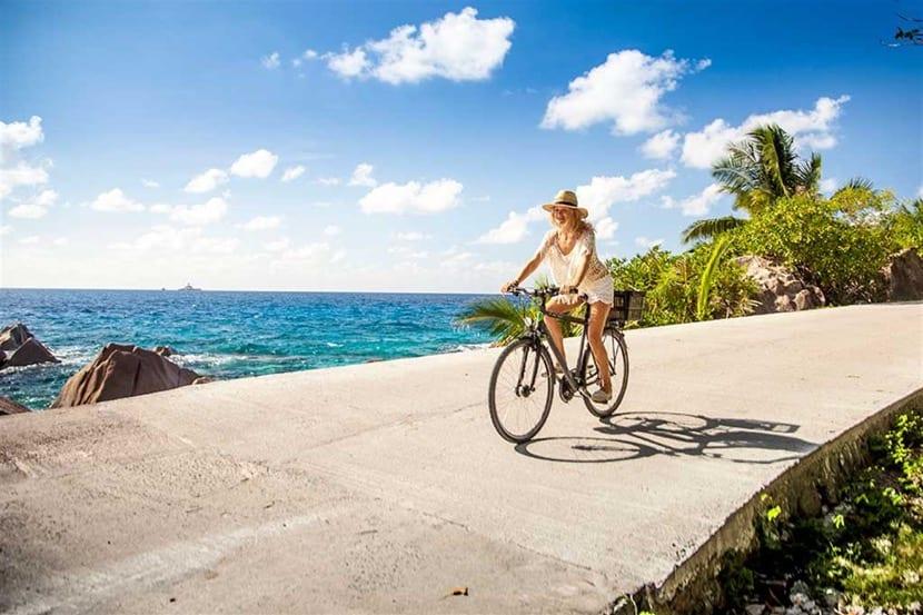 islas seychelles en bici