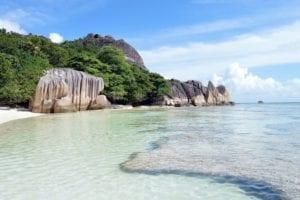 islas seychelles en mar
